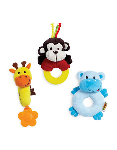 Edushape Soft Pals Three-Piece Set-MULTI-One Size