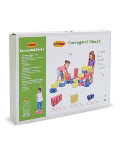 Edushape Corrugated Blocks - Set of 52-MULTI-One Size