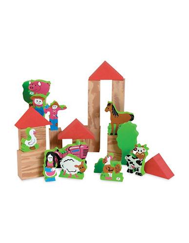 Edushape My Soft World - Farm Toy Set-MULTI-One Size