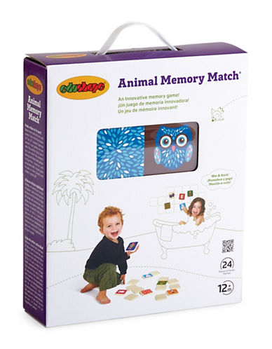 Edushape Animal Memory Match Toy Set-MULTI-COLOURED-One Size