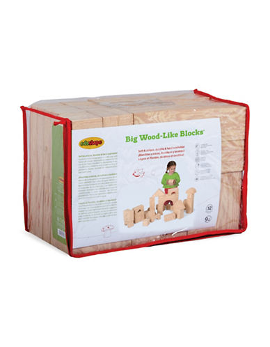 Edushape Big Wood-Like Blocks-MULTI-One Size