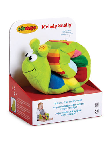 Edushape Melody Snaily Stuffed Toy-MULTI-One Size