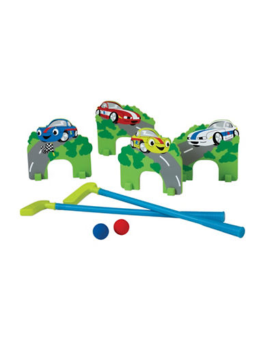 Edushape Mini Golf Racing Cars Toy Set-MULTI-One Size