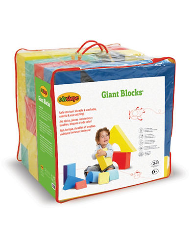 Edushape 32-Piece Giant Blocks Set-MULTI-One Size