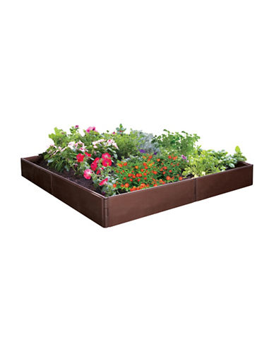 Df Omer Raised Garden Bed Kit-BROWN-One Size