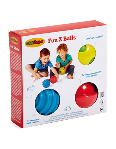Edushape Fun Z Ball-MULTI-One Size