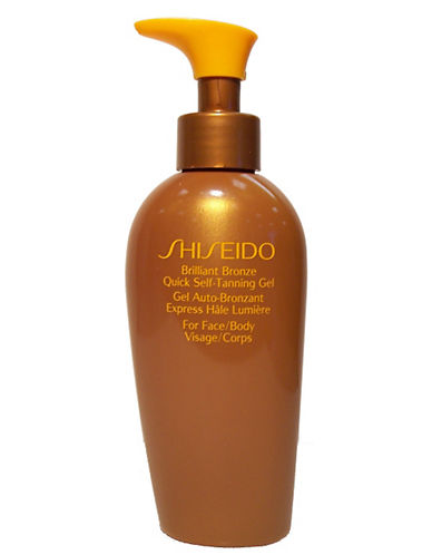 Shiseido Suncare Brilliant Bronze Quick Selftanning Gel-NO COLOUR-150 ml