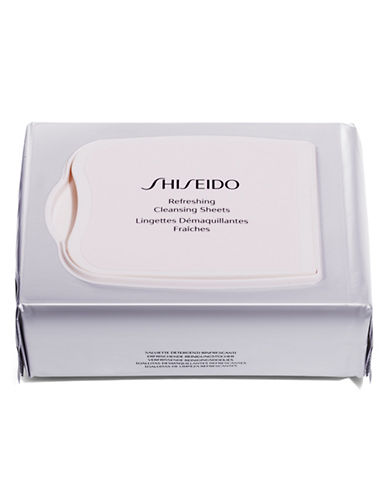 Shiseido Refreshing Cleansing Sheets-NO COLOR-One Size