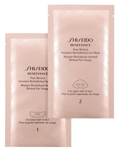Shiseido Benefiance Retinol Intensive Revitalizing Face Mask-NO COLOUR-One Size