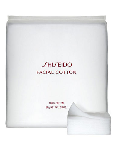 Shiseido Facial Cotton-NO COLOUR-One Size