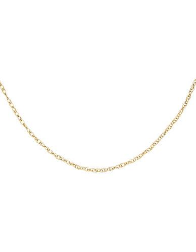 Fine Jewellery 14K Rope Chain Children Bracelet-GOLD-One Size