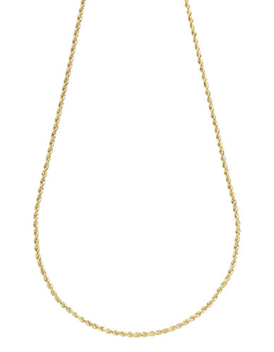 Fine Jewellery 14K Yellow Gold Seamless Rope Chain-YELLOW GOLD-One Size