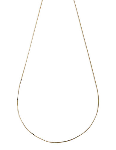 Fine Jewellery 14K Yellow Gold Snake Chain-YELLOW GOLD-One Size
