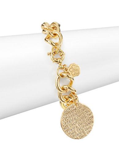 Trina Turk Cali Chic Charm Bracelet-GOLD-One Size