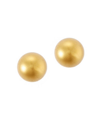 Lauren Ralph Lauren 10mm Stud Earring-GOLD-One Size