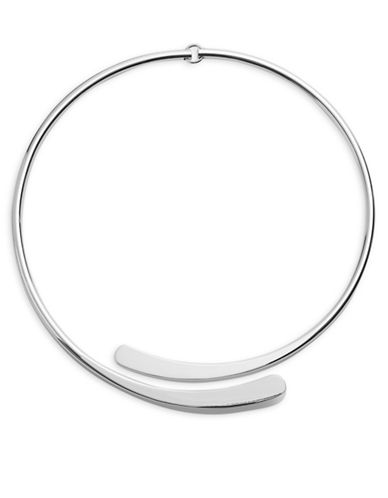 Lauren Ralph Lauren Sculpted Neck Wire-SILVER-One Size