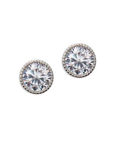 Lauren Ralph Lauren Spring Bridal Cubic Zirconia Stud Earrings-SILVER-One Size