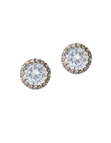 Lauren Ralph Lauren Spring Bridal Crystal Stud Earrings-WHITE-One Size