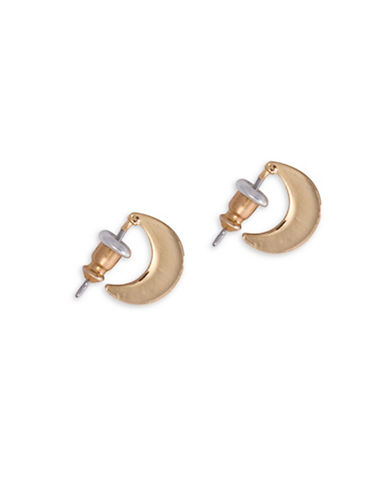 Lauren Ralph Lauren Graduated Hoop Earrings-GOLD-One Size