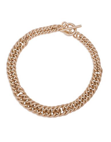 Lauren Ralph Lauren Goldtone Chain Necklace-GOLD-One Size