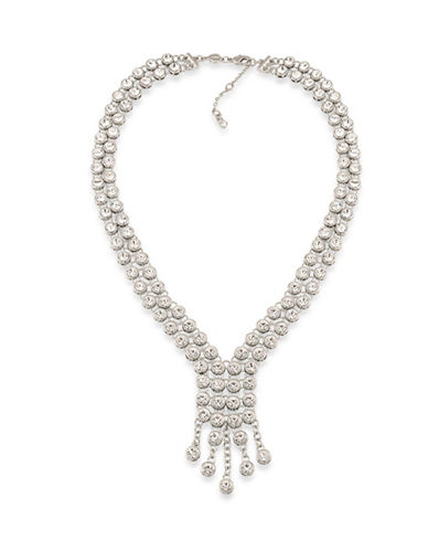 Carolee The Apollo Y-Necklace-SILVER-One Size