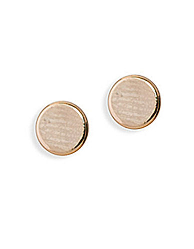 Lauren Ralph Lauren Riding High Stud Earrings-GOLD-One Size