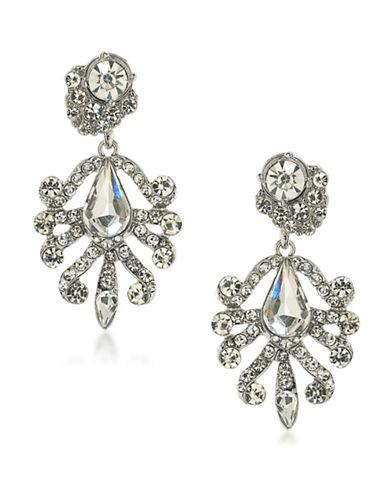 A.B.S. By Allen Schwartz Chandelier Pierced Earrings-SILVER-One Size