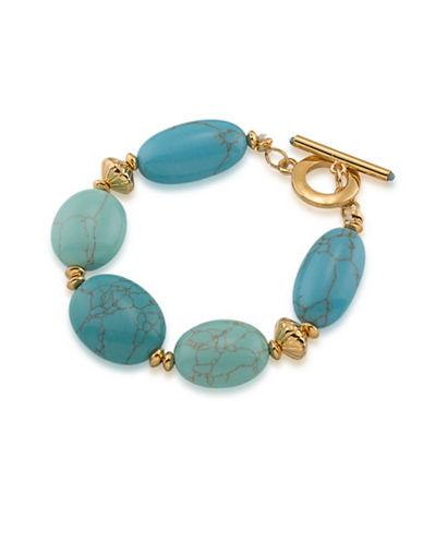 Lauren Ralph Lauren Paradise Found Bracelet-BLUE-One Size