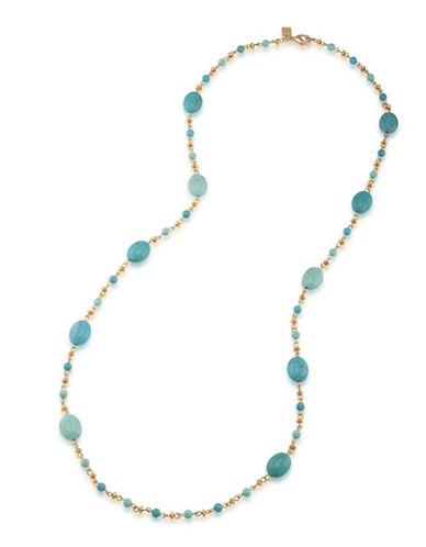 Lauren Ralph Lauren Paradise Found Illusion Necklace-BLUE-One Size