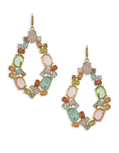 Carolee Cosmo Gypsy Hoop Earrings-MULTI-One Size