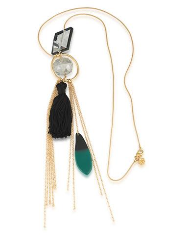 Trina Turk Cabaret Tassel Pendant Necklace-ASSORTED-One Size