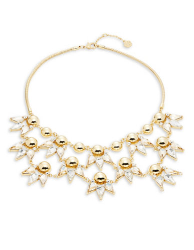 Trina Turk Sparkle and Shine Statement Necklace-GOLD-One Size