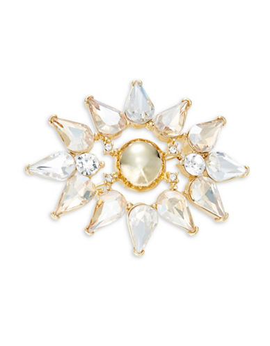 Trina Turk Sparkle and Shine Cluster Pin-CRYSTAL-One Size