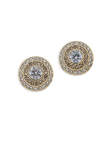 Lauren Ralph Lauren Bridal Vintage Clip Stud Earrings-BROWN-One Size