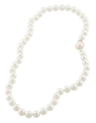 Carolee Single 8mm Pearl Strand-WHITE-One Size
