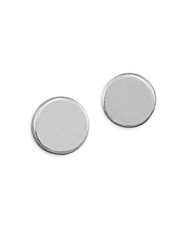 Lauren Ralph Lauren 6PM in New York Stud Pierced Earrings-GREY-One Size