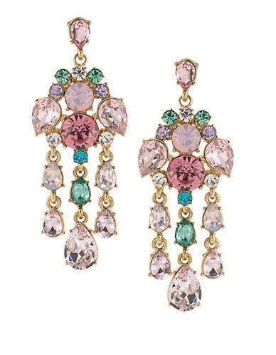 Carolee Garden Party 12K Goldplated Chandelier Earrings-MULTI-One Size