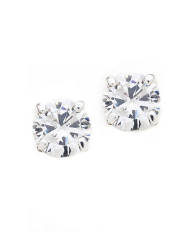 Lauren Ralph Lauren Medium Stud Earring-CRYSTAL-One Size