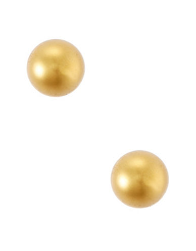 Lauren Ralph Lauren 6mm Ball Stud Earrings-GOLD-One Size