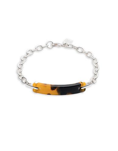 Lauren Ralph Lauren Tortoiseshell ID Bracelet-DARK BROWN-One Size