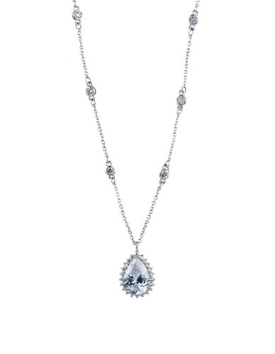 Carolee Imperial Sky Pendant Necklace-SILVER-One Size
