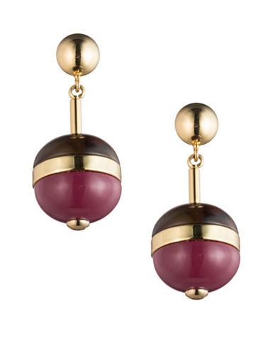 Trina Turk Colourblock Drop Earrings-MULTI-One Size