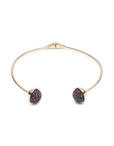 Trina Turk Cocktails & Confetti Multicolour Pave Ball Collar Necklace-MULTI-One Size
