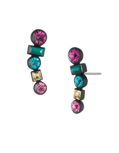 Trina Turk Cocktails & Confetti Multicolour Ear Climbers-MULTI-One Size