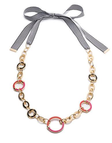 Trina Turk Destination Groove Link Necklace-MULTI-One Size