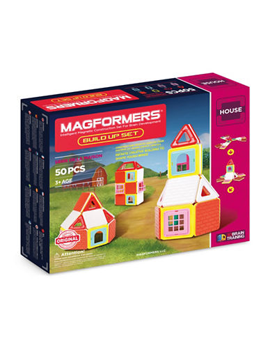 Magformers Build-Up 50-Piece Set-ASSORTED-One Size