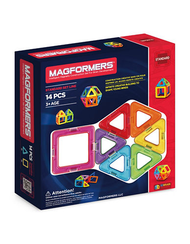 Magformers Rainbow 14-Piece Standard Set-ASSORTED-One Size