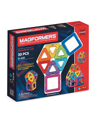 Magformers Rainbow 30-Piece Standard Set-ASSORTED-One Size
