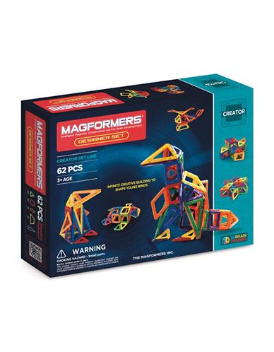Magformers Designer 62-Piece Set-ASSORTED-One Size