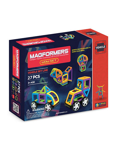 Magformers Wow Vehicles 27-Piece Set-ASSORTED-One Size